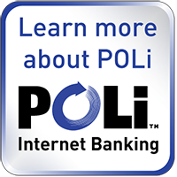 Pay securely online with POLi payments